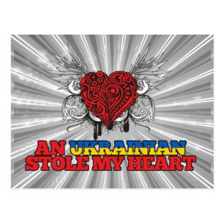 An Ukrainian Stole my Heart Post Cards