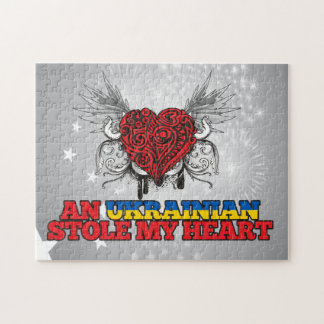 An Ukrainian Stole my Heart Puzzle