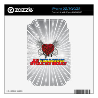 An Ukrainian Stole my Heart Decal For iPhone 2G