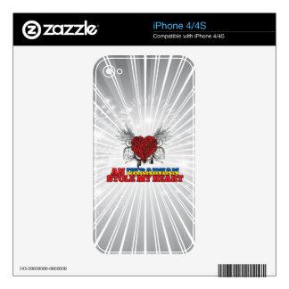 An Ukrainian Stole my Heart Skins For iPhone 4