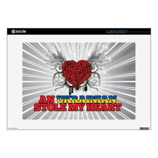 An Ukrainian Stole my Heart Laptop Decals