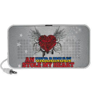 An Ukrainian Stole my Heart Laptop Speakers