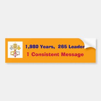 An Unbroken Chain of Leaders Bumper Sticker