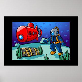 An Underwater Adventure Print