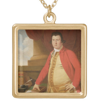 An Unknown Man, c.1764-69 (oil on canvas) Jewelry