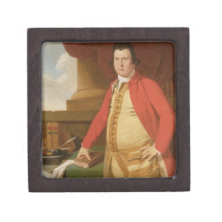 An Unknown Man, c.1764-69 (oil on canvas) Premium Jewelry Boxes