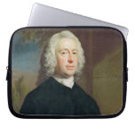An Unknown Man in Black, 1735 (oil on canvas) Computer Sleeve