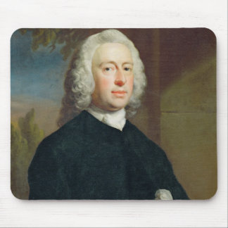 An Unknown Man in Black, 1735 (oil on canvas) Mouse Pad