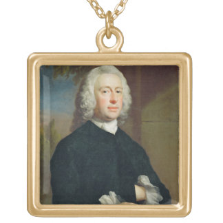 An Unknown Man in Black, 1735 (oil on canvas) Pendants