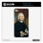 An Unknown Man in Black, 1735 (oil on canvas) Skin For iPhone 4S