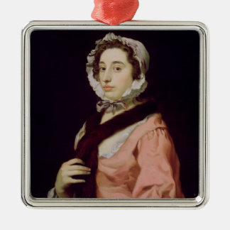 An Unknown Woman, called Peg Woffington (oil on ca Metal Ornament