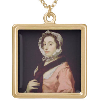 An Unknown Woman, called Peg Woffington (oil on ca Pendant