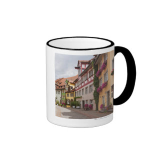 An unusually well-preserved medieval town on the mug