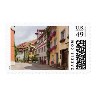 An unusually well-preserved medieval town on the postage
