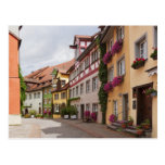An unusually well-preserved medieval town on the postcard