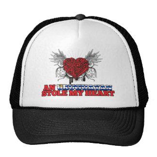 An Uruguayan Stole my Heart Mesh Hats