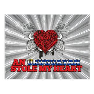 An Uruguayan Stole my Heart Postcard