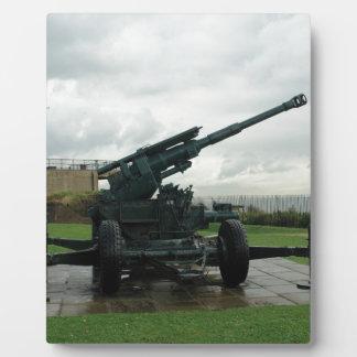 An WW2 anti-aircraft gun at Dover Castle Photo Plaque