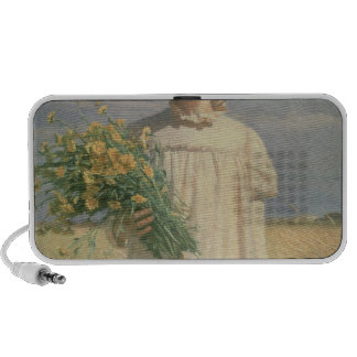 Ana Ancher que vuelve de la flor Picking, 1902 Sistema Altavoz