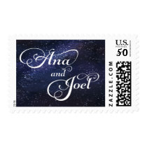 Ana and Joel Space Themed Stamp