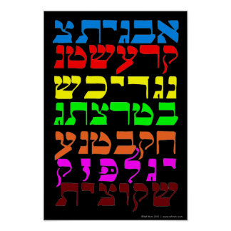 Ana B' Koach in the Seven Colors Poster