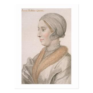 Ana Bolena (1507-36) grabado por Francisco Bartol Postal