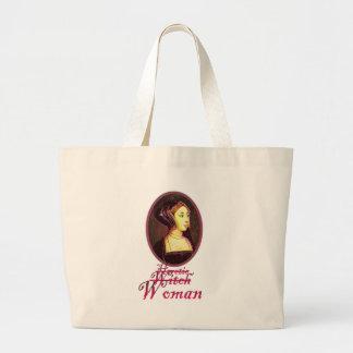 Ana Bolena - bolso de la mujer Bolsa Tela Grande
