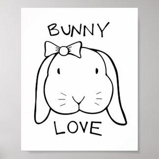 Ana Bunny Poster