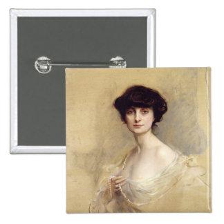 Ana de Noailles 1913 Pin Cuadrado