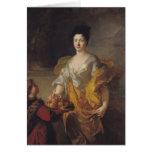 Ana María de Bosmelet, duquesa de la fuerza del La Tarjeta De Felicitación