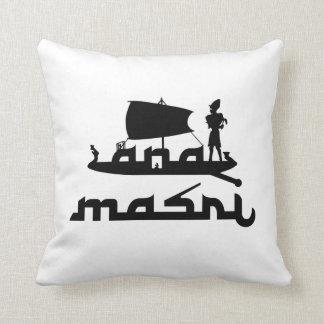 Ana Masri Throw Pillow