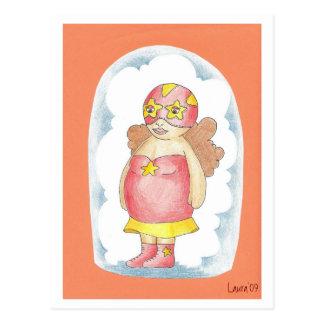 Ana Nube de Algodón Postcard