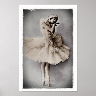 Ana Pavlova presentó en Pointe Poster