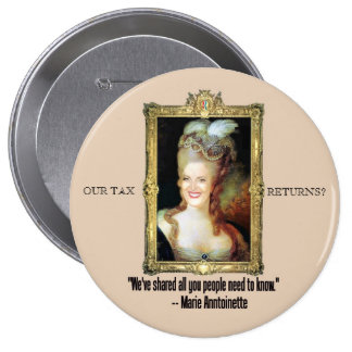 Ana Romney como Marie Antonieta Pin Redondo De 4 Pulgadas