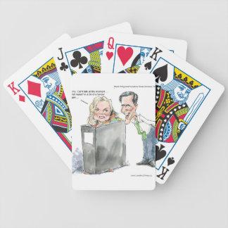 Ana Romney en camisetas y tarjetas divertidas de l Barajas De Cartas