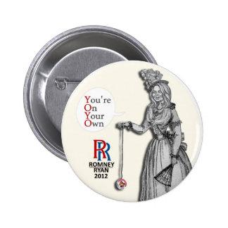 Ana Romney: YOYO Pin Redondo De 2 Pulgadas