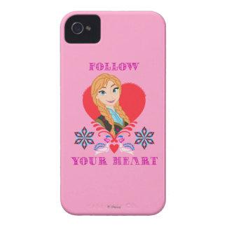 Ana - siga su corazón Case-Mate iPhone 4 cárcasas