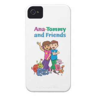 Ana-Tommy and Friends, adorable iPhone 4 Case