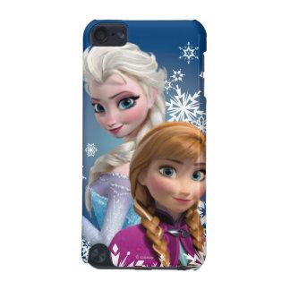 Ana y Elsa con los copos de nieve Funda Para iPod Touch 5G