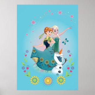 Ana y Elsa el   celebran a la hermandad Póster