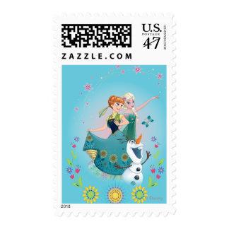 Ana y Elsa el | celebran a la hermandad Sellos Postales