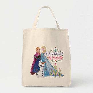 Ana y Elsa el | celebran verano Bolsa Tela Para La Compra