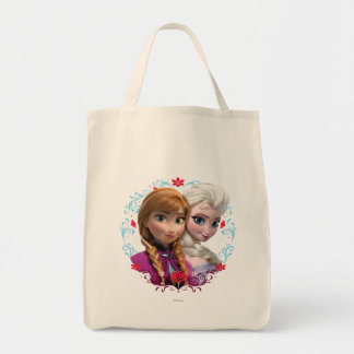 Ana y Elsa el | fuerte Bolsa Tela Para La Compra