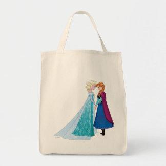 Ana y Elsa el | junto para siempre Bolsa Tela Para La Compra