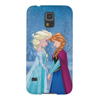 Ana y Elsa el   junto para siempre Funda De Galaxy S5