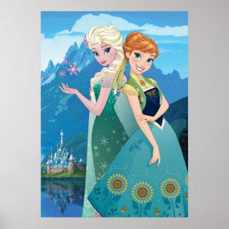 Ana y Elsa el | mi hermana me ama Póster