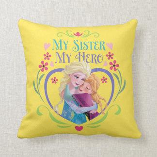 Ana y Elsa el | mi hermana mi héroe Cojín