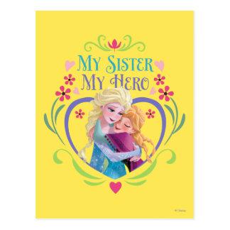 Ana y Elsa el | mi hermana mi héroe Tarjetas Postales