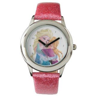 Ana y Elsa el | que abraza Reloj De Mano