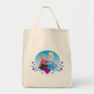 Ana y Elsa - siga su corazón Bolsa Tela Para La Compra